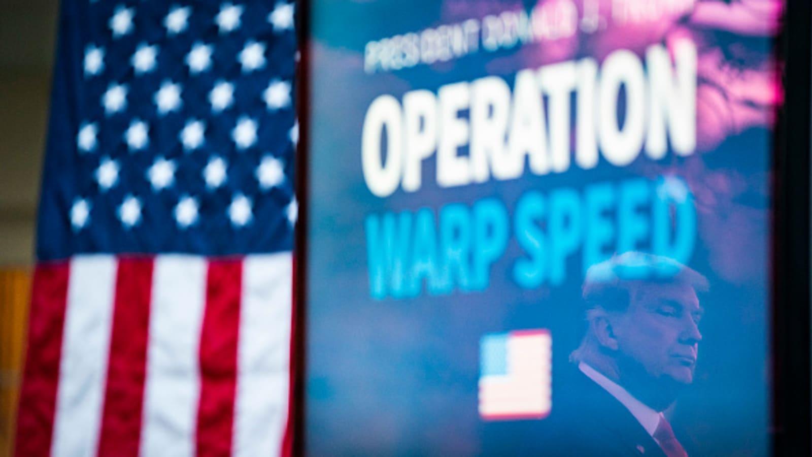 operation warp speed