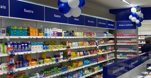Secciones que permiten ubicar fácilmente los productos